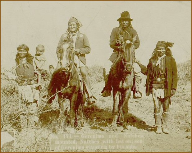 a history of geronimo and the conflicts between apaches and mexicans