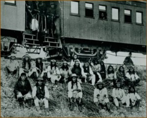 Prisoners Transported by rail to Florida. (Courtesy National Archives)